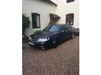 SAAB 9-5 AERO HOT 250bhp Saloon 2.3 Turbo car for sale excellent condition very fast and reliable