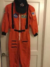 NASA astronaut training suit and cap 8 - 10 yrs.