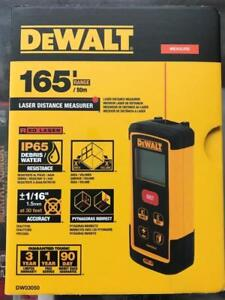 BRAND NEW DEWALT DW03050 165-Feet Laser Distance Measurer