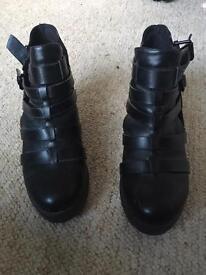 Size 5 block heels