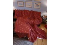 Brand new dsigner curtains handmade