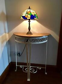 Console table iron legs