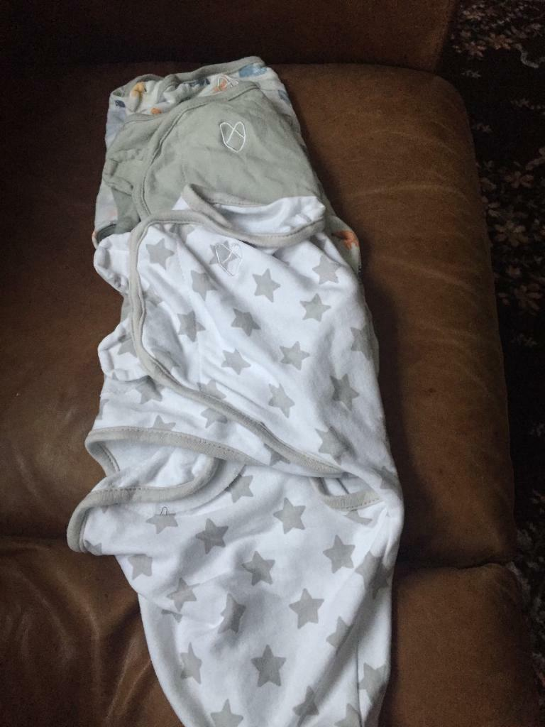 3 swaddle blankets from swaddleme