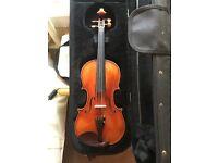 Scott Cao stv1500 Stradivarius soil violin and protec case