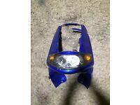 Piaggio skipper st125 front fairing plus light