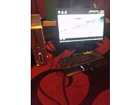 """PC & Monitor - Dell inspiron 530s,22"""" Dell monitor,Dell keyboard,spare mouse"""