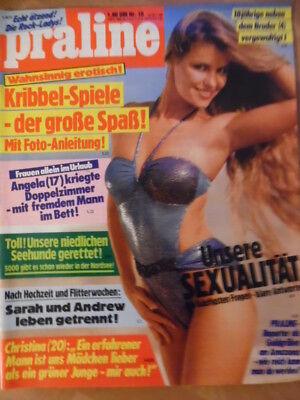 PRALINE 18 - 24.4. 1986 Evelyn Rille Iris Berben Rock-Ladys Bo Derek Seehaus