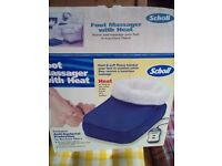 Scholl foot massager with heat