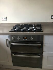 Kitchen, Double Oven, hob & Extractor