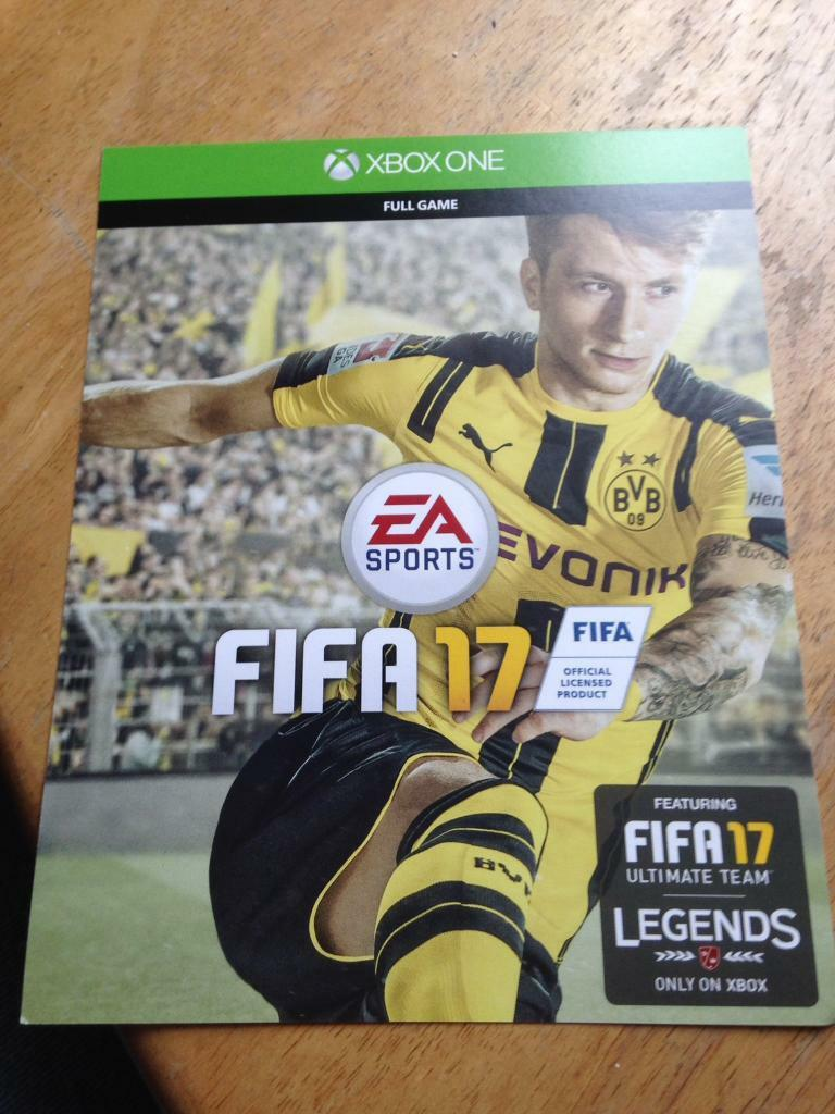 FIFA 17 Xbox One Full Game Code