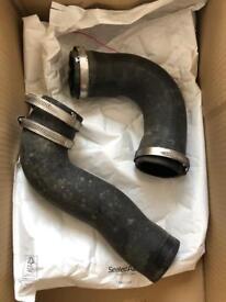 Intercooler hoses. Original Audi parts. 2.0T