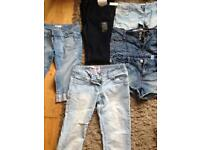 Woman's jeans 8-10