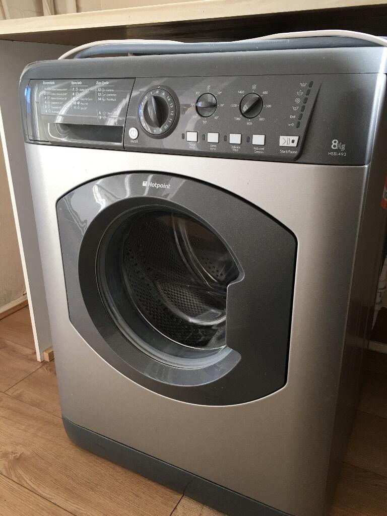 Hotpoint 1400 spin 8kg washing machine SOLD to Lauren