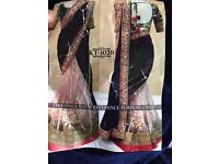 Indian Designer latest Bollywood Lehenga Choli Asian Wedding Party Wear Sari/ Saree -3020