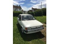 Ford Fiesta Popular Plus DSL - 1988 - Low Mileage and Very Clean