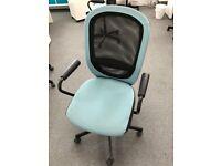 Swivel Desk Chair - Blue