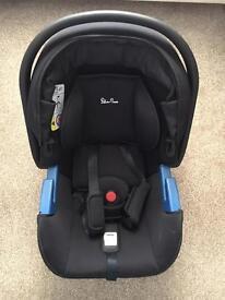 Silver cross car seat & isofix