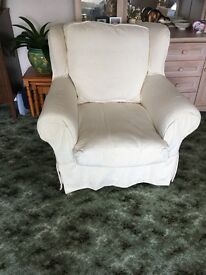 White Arm Chair