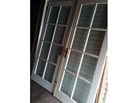 INTERNAL FRENCH DOORS + FRAME