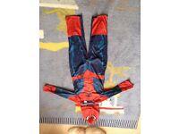 Spider man costume 5-6 years
