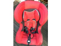 Mothercare unisex front facing car seat 9 month to 4 year