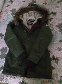 Superdry jacket (used)