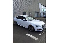 2010 *White* Audi A4 S Line