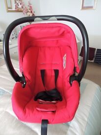 Petite Star rear facing baby car seat in excellent condition