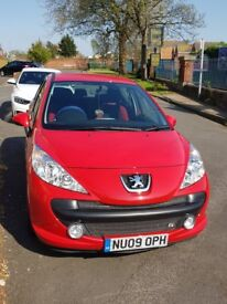 2009 pegouet 207, Low miles, one year MOT, 1.4 engine very nice and clean car