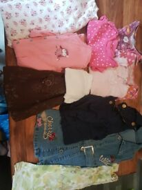 Baby girl bundle 12-18 months