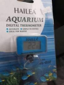 Aquarium digital thermometer