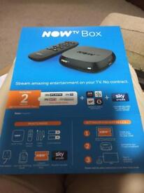 Two 'NOW TV BOXES