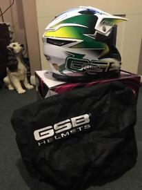 Motocross helmet brand newGSB size medium in box