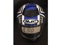 HJC XL size helmet 49 pounds only