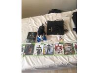 Xbox 360 console +8 games