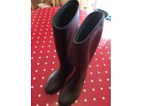 Black Toggi Horse Riding Boots - size 1