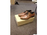 Brown leather shoe from Sole traders -Size 42