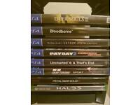 XBOX ONE / PS4 GAMES SALE OR SWAP
