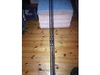 2 x TF Gear X2 (X series) rods 3lb test curve