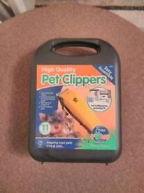 Pet clipper set