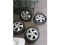 Honda VTI fan blade alloys 195/55/15