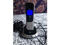 BT 2200 Single Digital Cordless House Phone & Cables - Excellent Condition