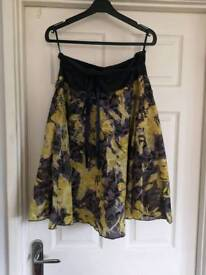 Two skirts £10 each size 14/m