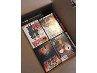 Box full of DVDs collection only