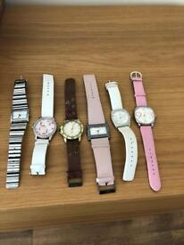 Watches woman