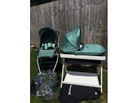Uppababy Vista -Green. Excellent condition