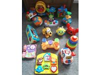 Large bundle of baby toys Vtech Leap Frog Fisher-Price Little Tikes