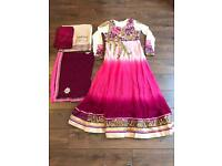 Designer asian dress size 12
