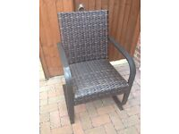 Agio Santa Ana Woven Patio Dining Chair From Costco