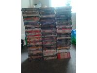 APPROX 150 DVDS DVD BUNDLE IDEAL FOR SHOP OR CARBOOT CAR BOOT